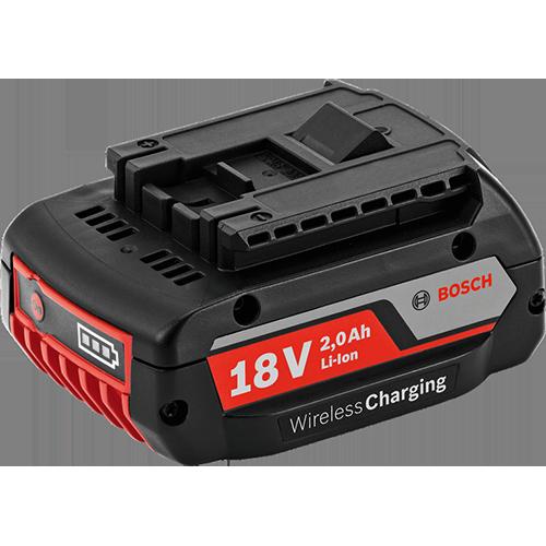 Аккумулятор Li-Ion Bosch GBA 18 В 2,0 Ah MW-B Wireless Charging Professional